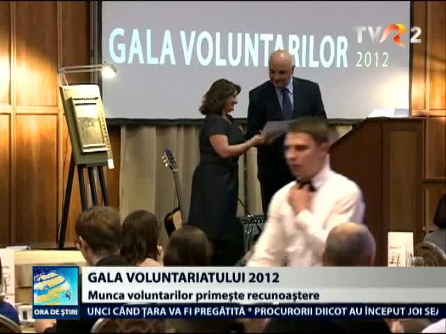 Gala voluntariatului 2012