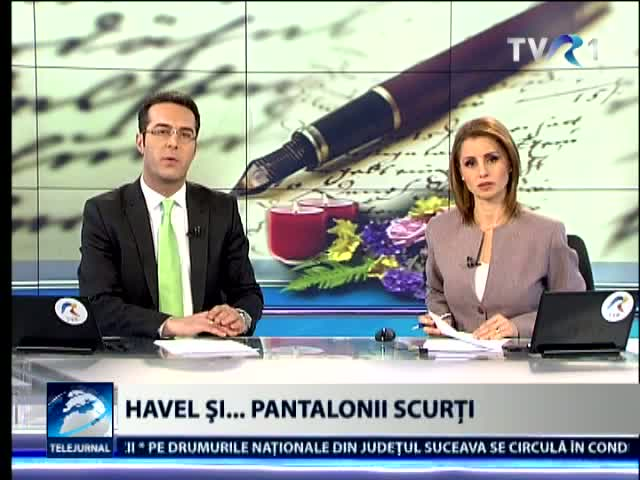 Havel si pantalonii scurti