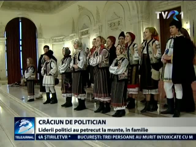 Craciunul politicienilor