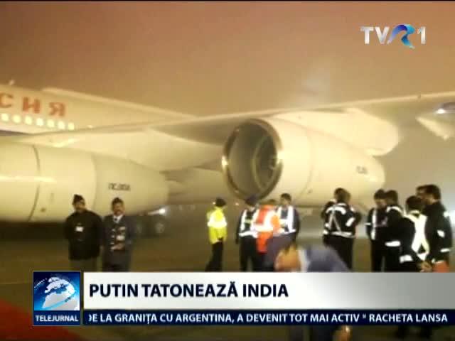 Putin tatoneaza India