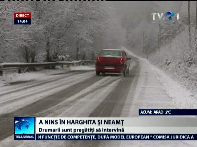 A nins in Harghita si Neamt