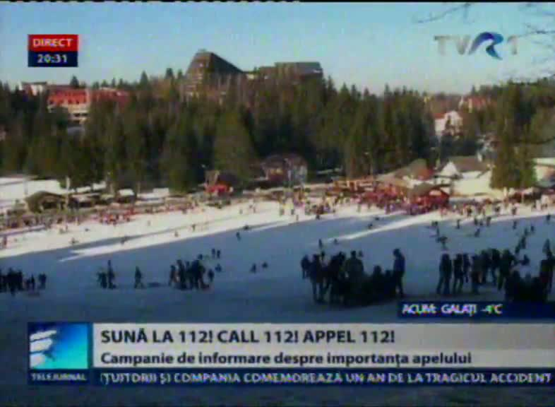Sună la 112! Call 112! Appel 112!