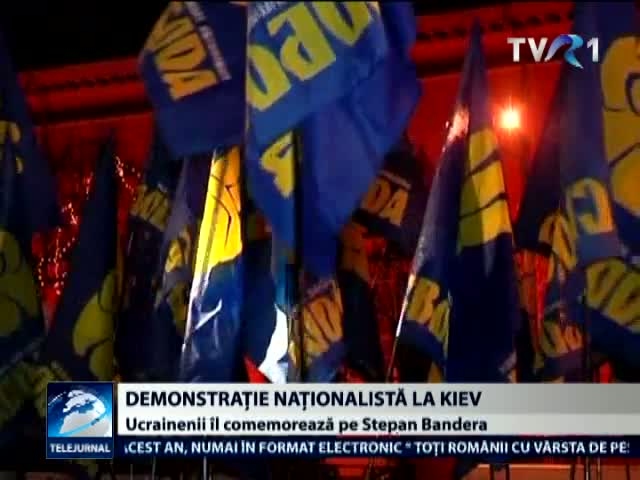 Demonstratie nationalista la Kiev