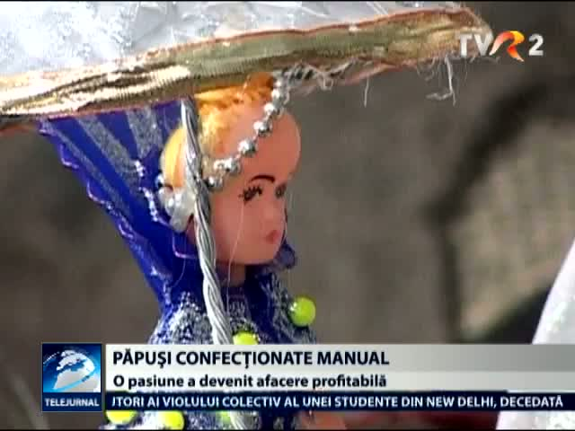 Papusi confectionate manual