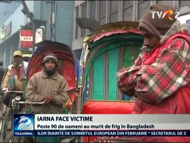 Iarna face victime in Bangladesh