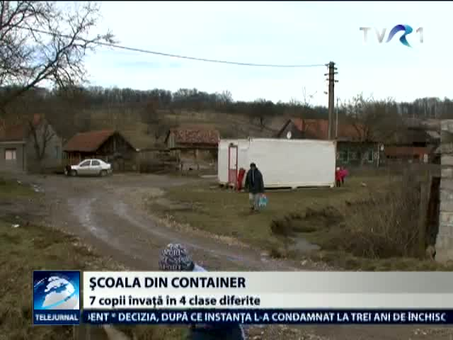 Scoala din container