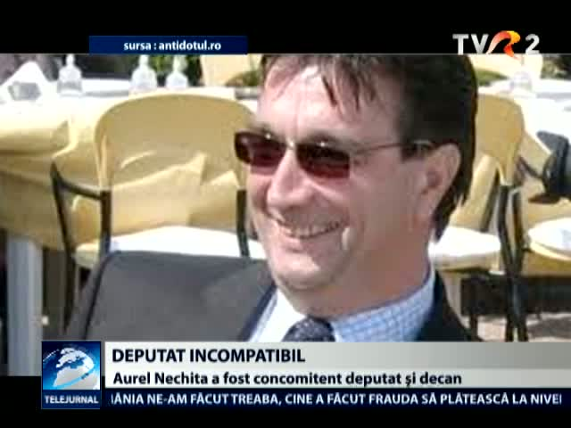 Aurel Nechita, incompatibil