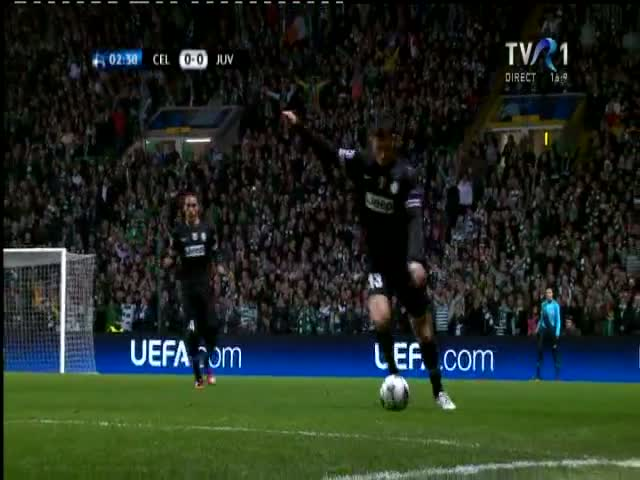 Celtic-Juventus 0-1