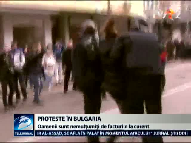 Prosteste in Bulgaria