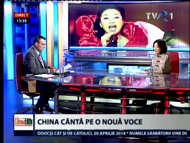 China canta pe o voce noua