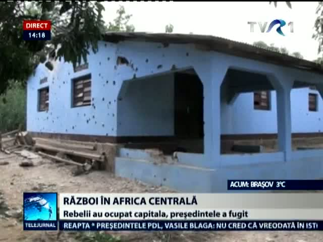 Razboi in Republica Africa Centrala