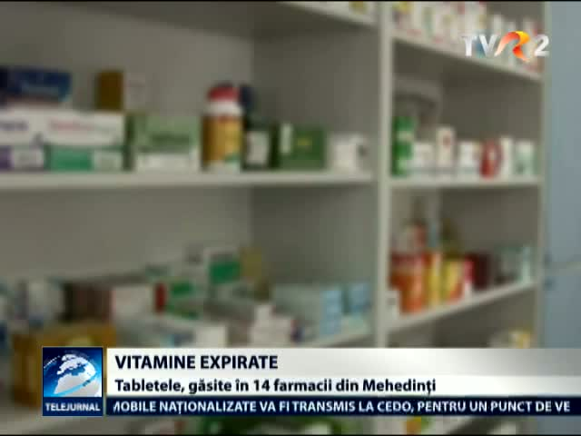 Vitamine expirate in farmacii