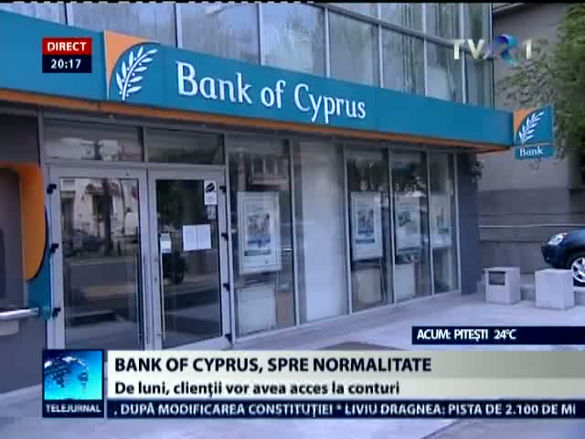 Bank of Cyprus, spre normalitate