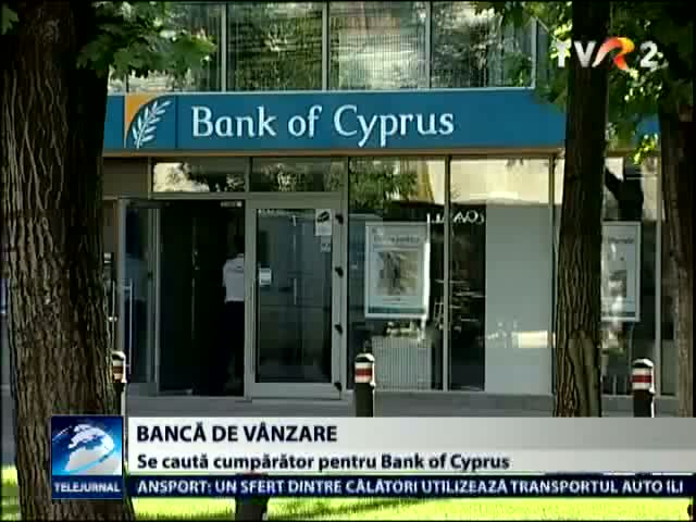Bank of Cyprus Romania este de vanzare