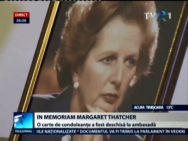 In memoriam Margaret Thatcher