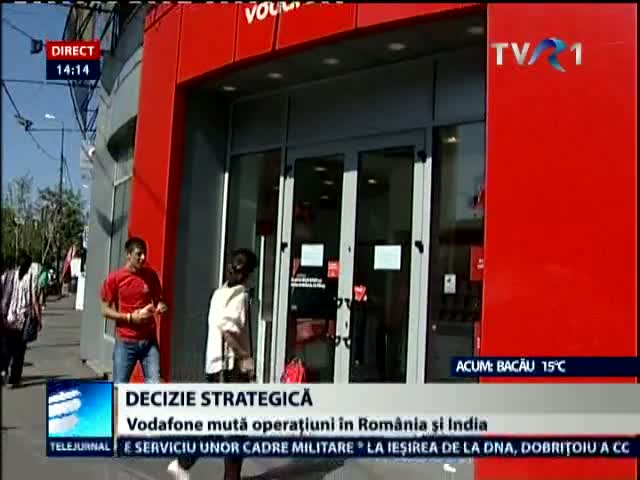 Decizie strategica la Vodafone