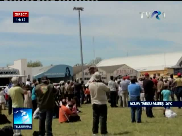 Accident la un miting aviatic în Spania