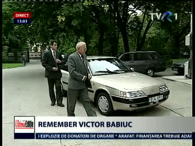 Remember Babiuc. Ultima Editie