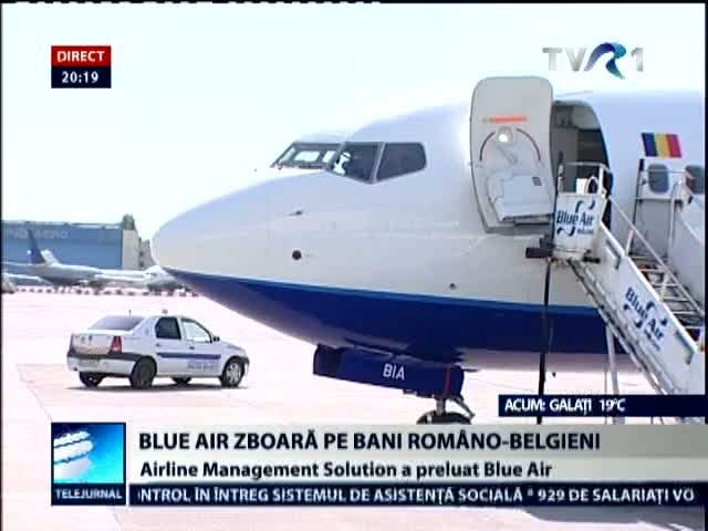 Airline Management Solution a preluat Blue Air