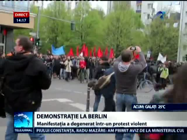 Demonstratie Berlin