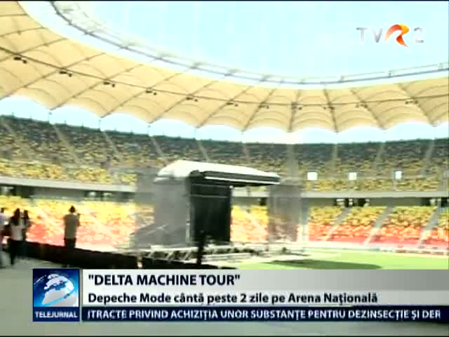 Delta Machine Tour