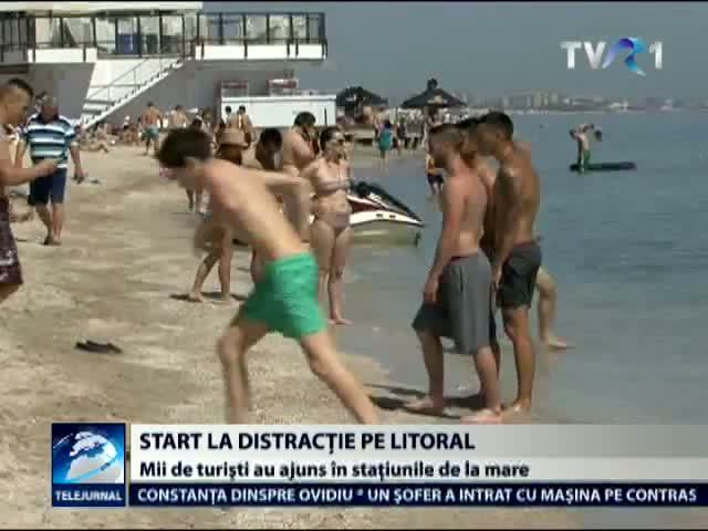 Start la distractie pe litoral