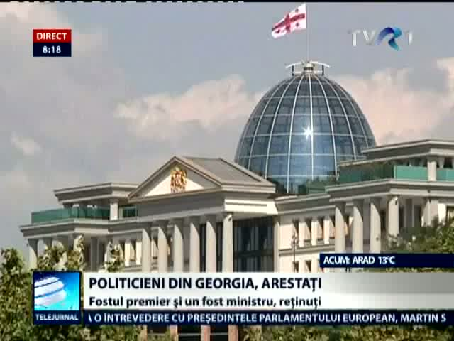 Politicieni arestati in Georgia