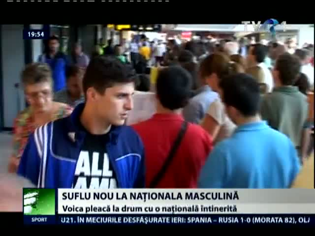 Eliodor Voica e multumit de handbalistii de la nationala