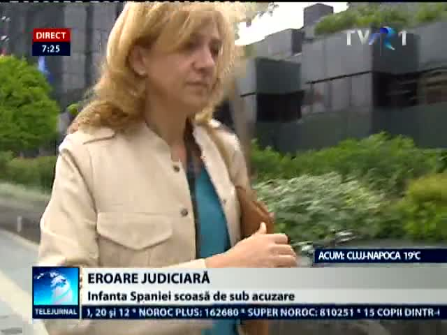 Eroare judiciara in Spania