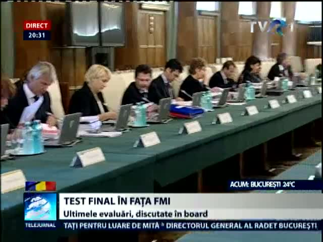Test final in fata FMI
