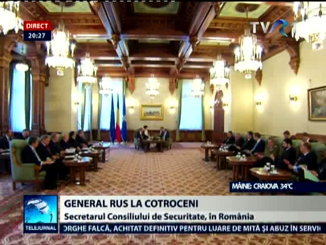 Un general rus la Bucuresti