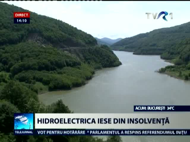 Hidroelectrica iese din insolventa