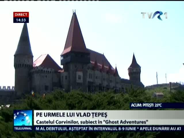 Castelul Huniazilor, în Ghost Adventures de pe Travel Channel