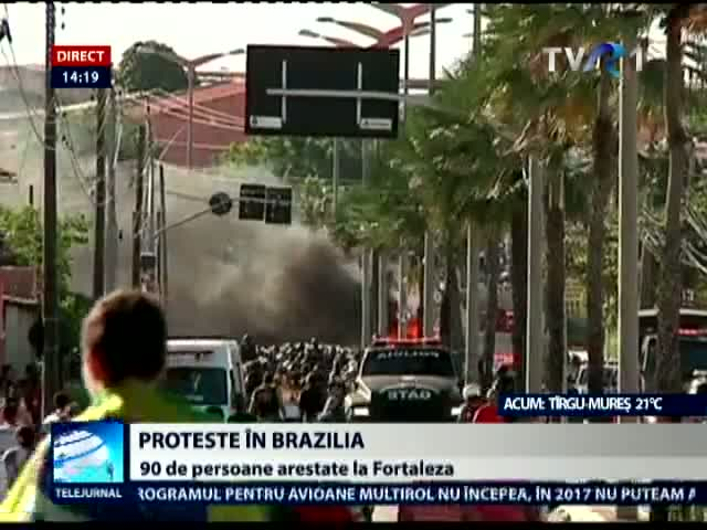Proteste in Brazilia