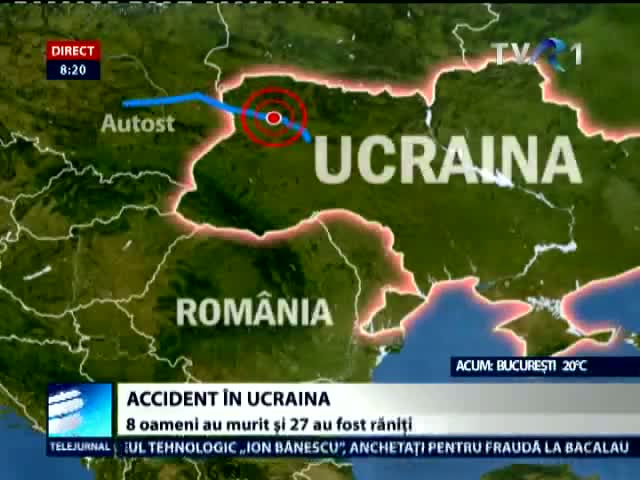 Accident in Ucraina