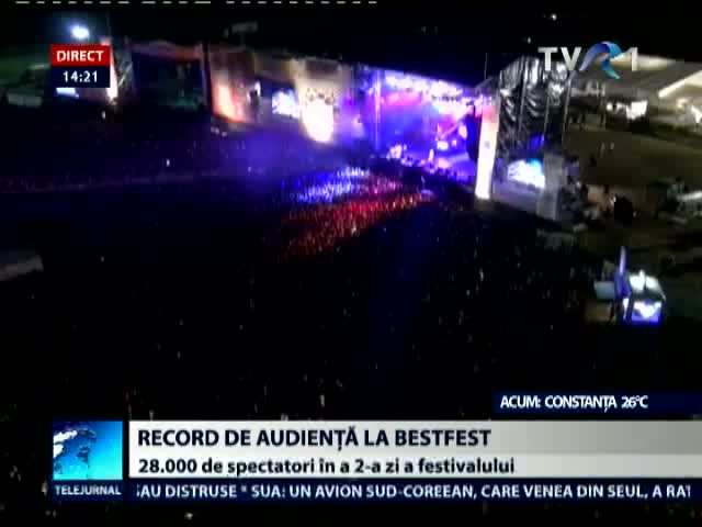 Record de audienţă la B'ESTFEST