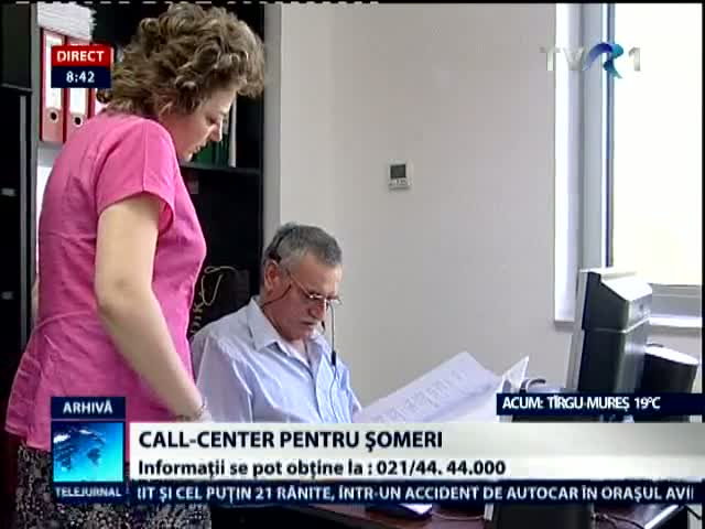 Call center pentru someri