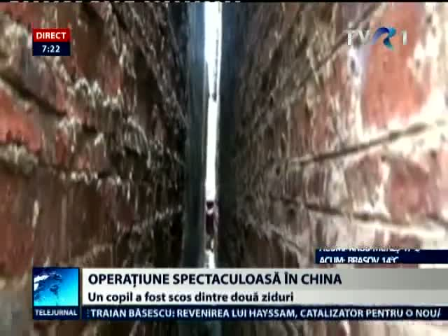 Operatiune de salvare in China