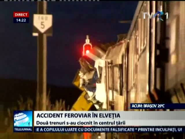 Accident feroviar in Elvetia