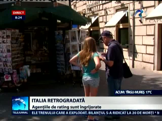 Italia, retrogradată