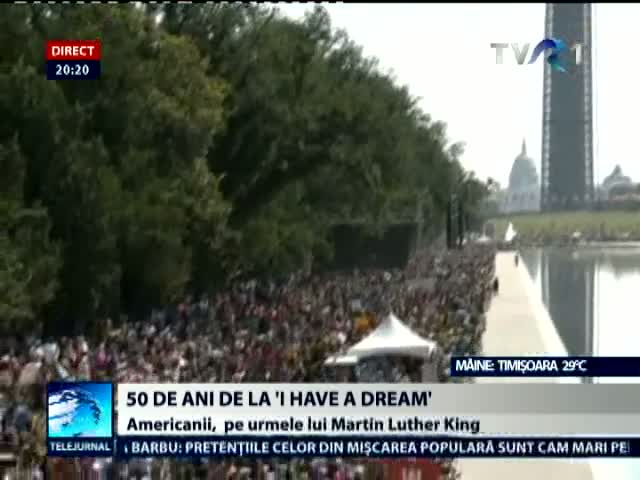 50 de ani de la discursul I Have a Dream