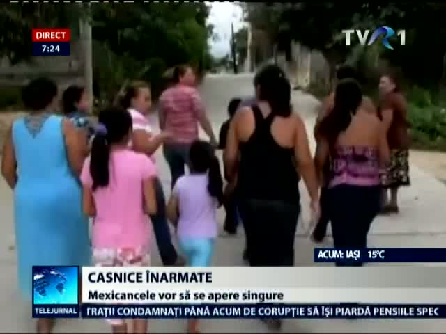 Casnice inarmate in Mexic
