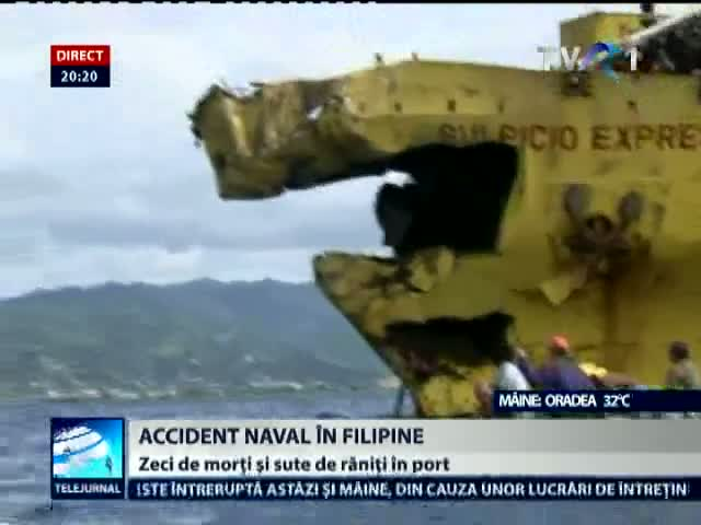 Accident naval în Filipine