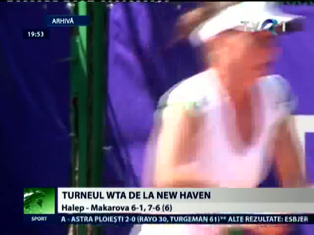 Simona Halep va juca in semifinale la New Haven