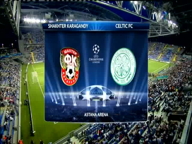 Celtic Glasgow, invinsa in Kazahstan de Shakhter Karagandy, cu 2-0