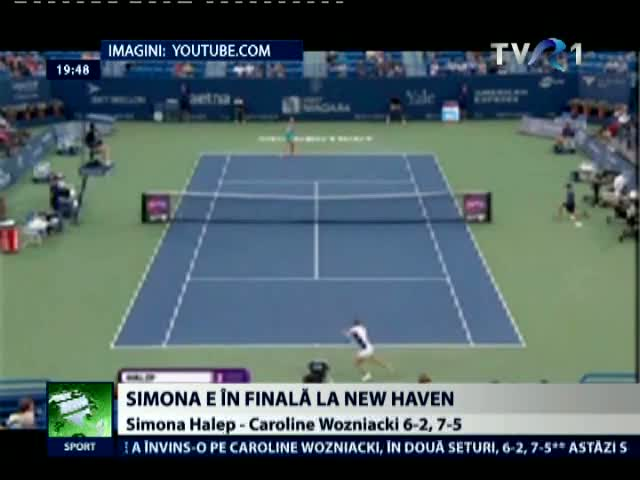 Simona Halep va juca finala de la New Haven
