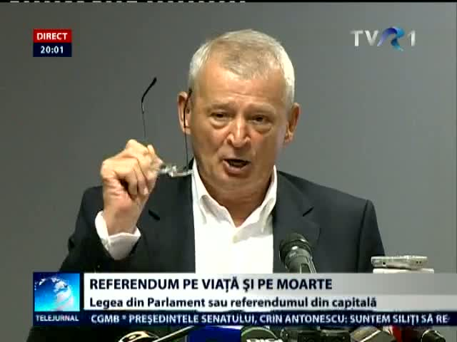Legea din Parlament sau referendum in Capitala?