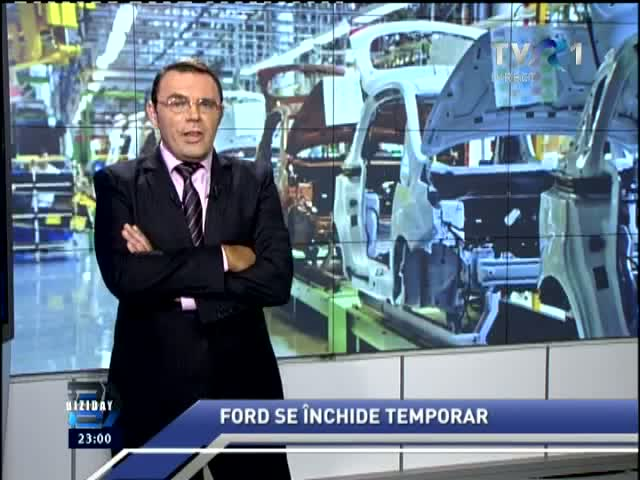 Ford se închide temporar