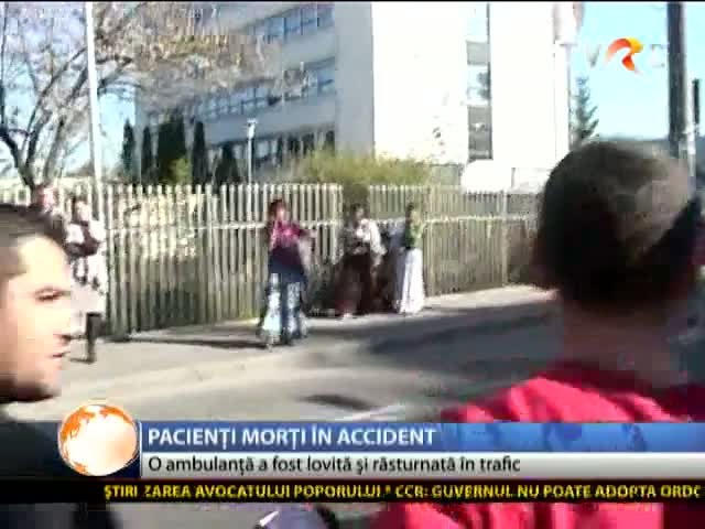 Pacienți morți în accident