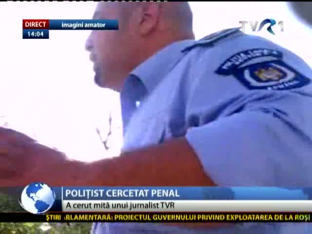 Polițist local, cercetat penal